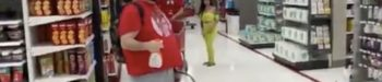 Man Sprays Anti-Mask Mob of COVIDiots with Lysol at California Target: WATCH