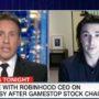 Chris Cuomo Hammers Robinhood CEO Vlad Tenev on Limiting Stock Trades Amid GameStop Furor: 'It Smells Bad' — WATCH