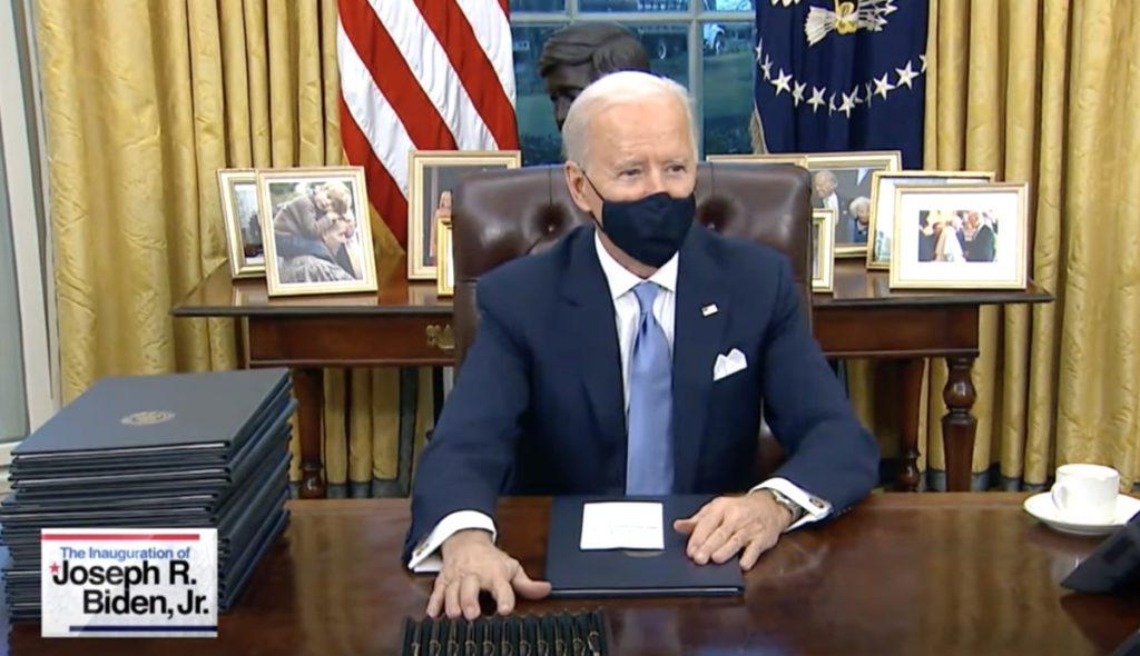 Joe Biden LGBTQ executive order