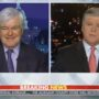 Newt Gingrich Tells Sean Hannity That Democrats Want to 'Exterminate' Republicans: WATCH