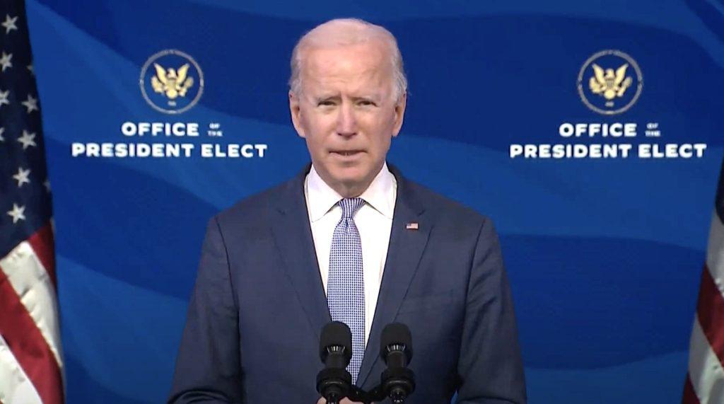 Joe Biden insurrection Trump