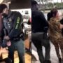 Maskless Leopard Print 'Karen' Goes Down Shrieking at Palm Beach Bagel Shop: WATCH
