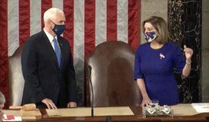 Mike Pence Nancy Pelosi