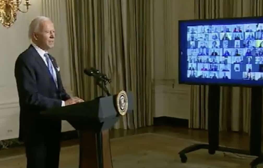 Joe Biden swearing in