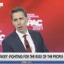 Josh Hawley Gets Exuberant Ovation at CPAC for Trying to Overturn 2020 Election: WATCH