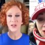 Kathy Griffin Reports Troll Insurrectionist to the FBI: 'Looks Like You're A Domestic Terrorist and Now We All Know It!'