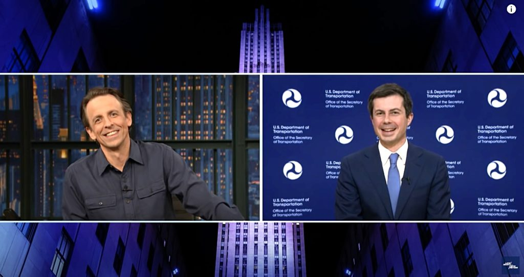 Seth Meyers Pete Buttigieg