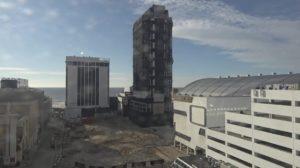 trump plaza hotel implosion