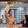 A Pop-Up, Shirtless 'Hunky Man Cleaning Service' that Comes Home With You.  A First For This Conservative City.