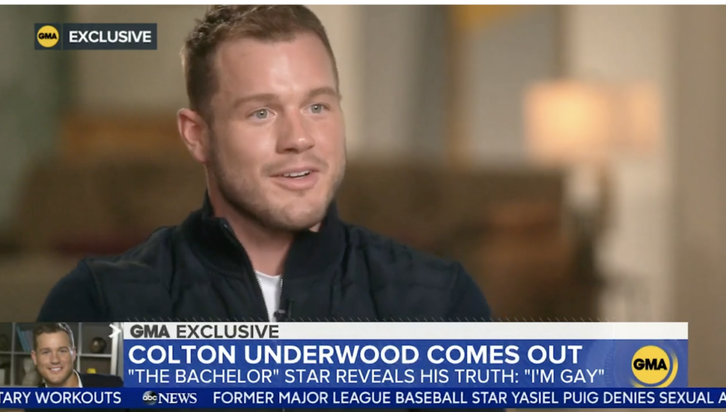 colton underwood gay come out