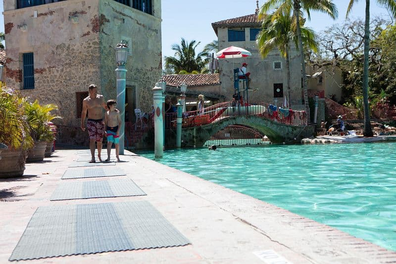 The Venetian Pool in Coral Gables is a family-friendly oasis to enjoy alone, with your partner or even take a dip with the kids. Photo courtesy of the GMCVB.