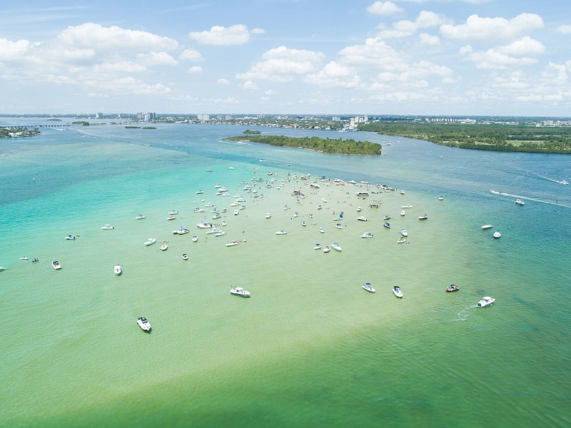 Bask in the buff at Miami's Haulover Beach, Florida's only beach with a legal clothing-optional section. Photo courtesy of the GMCVB .