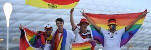 League Forbids Rainbow-lit Munich Stadium For Hungary Match to Protest Anti-Gay Laws. So  Fans, Other Stadiums Put Rainbows Everywhere
