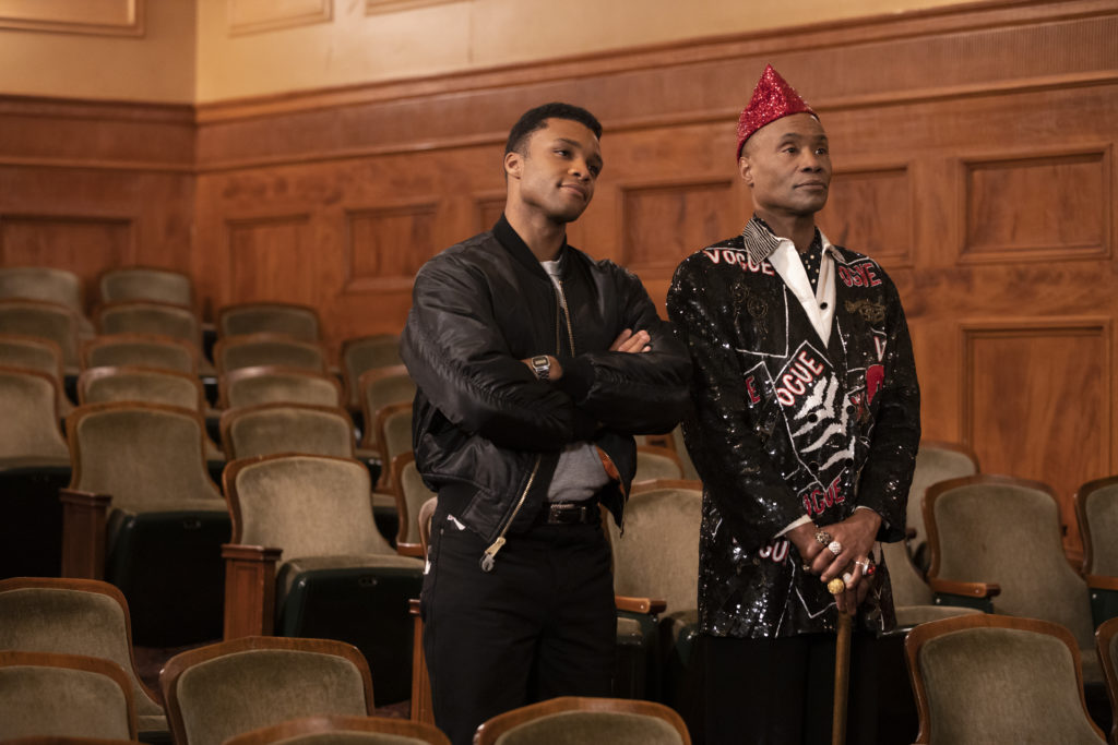 Dyllón Burnside as Ricky and Billy Porter as Pray Tell. Eric Liebowitz/FX