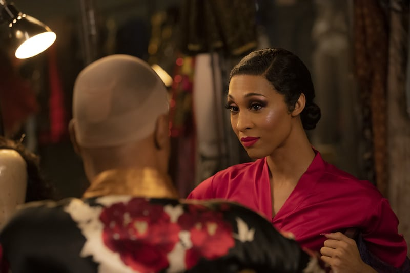 Billy Porter as Pray Tell and Mj Rodriguez as Blanca slayed another performance on Pose. Eric Liebowitz/FX
