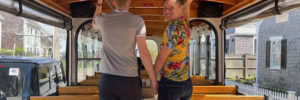 Garland 'Interpreter' Finds Love Possible at Every Stop in his  'Trolley Song' Mash Note to Queer Provincetown