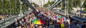 Record Crowd For Budapest Pride; Attendees Protest Hungary, Prime Minister Viktor Orban's Anti-LGBTQ Laws