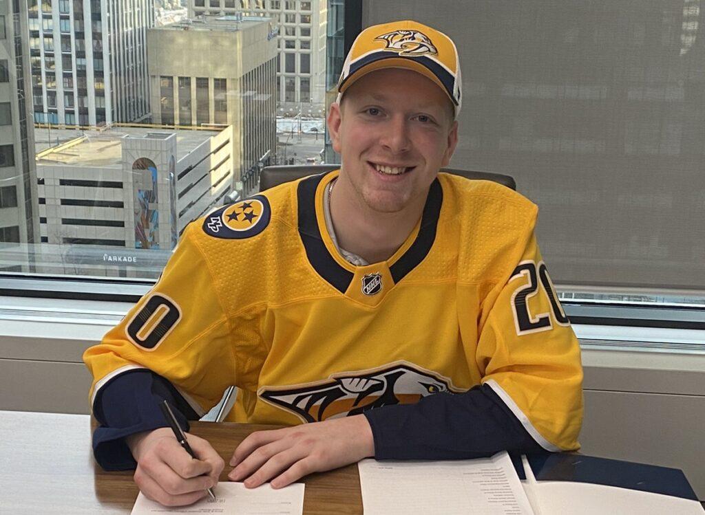NHL Luke Prokop coming out