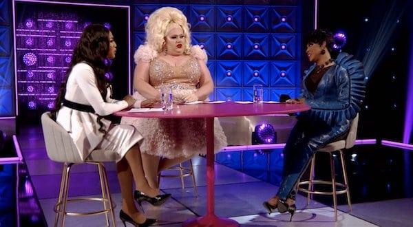 A'Keria, Eureka and Trinity on RuPaul's Drag Race All Stars