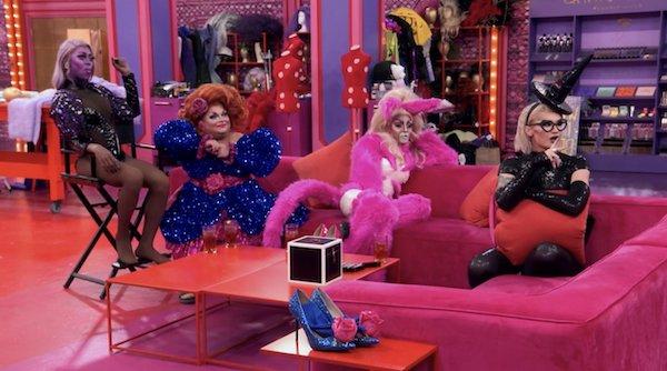 RuPaul's Drag Race All Stars final four.